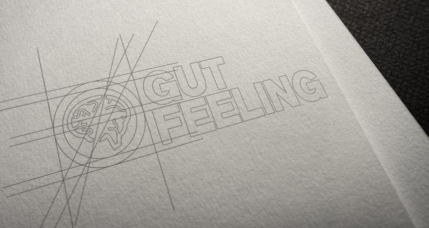 progetto logo su carta - mockup