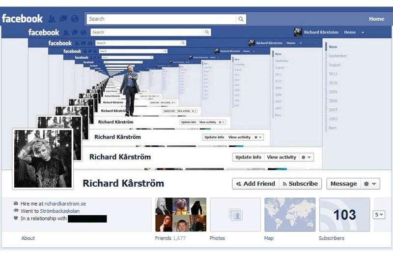 copertina di facebook creativa