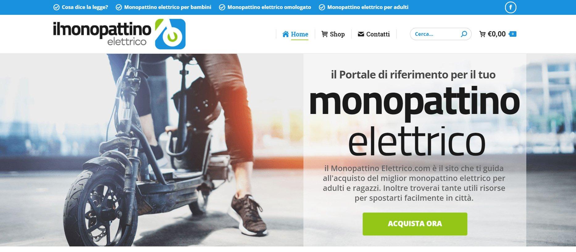monopattino elettrico per adulti