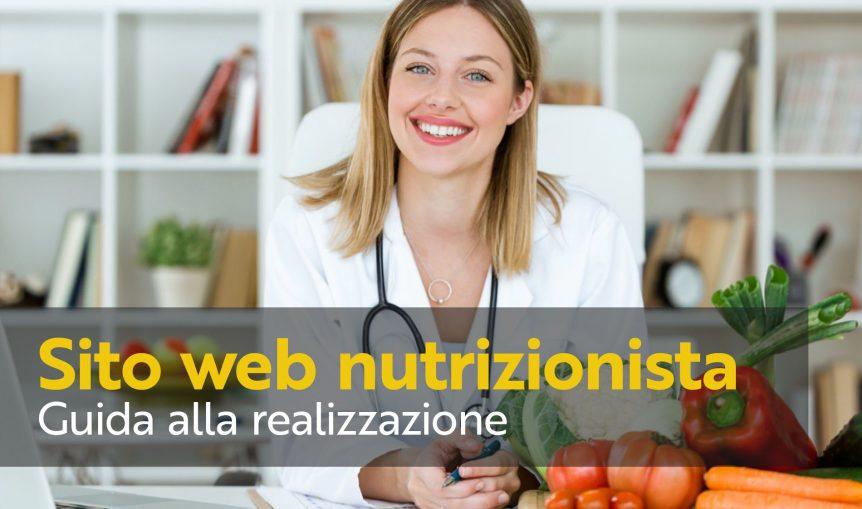 sito web nutrizionista