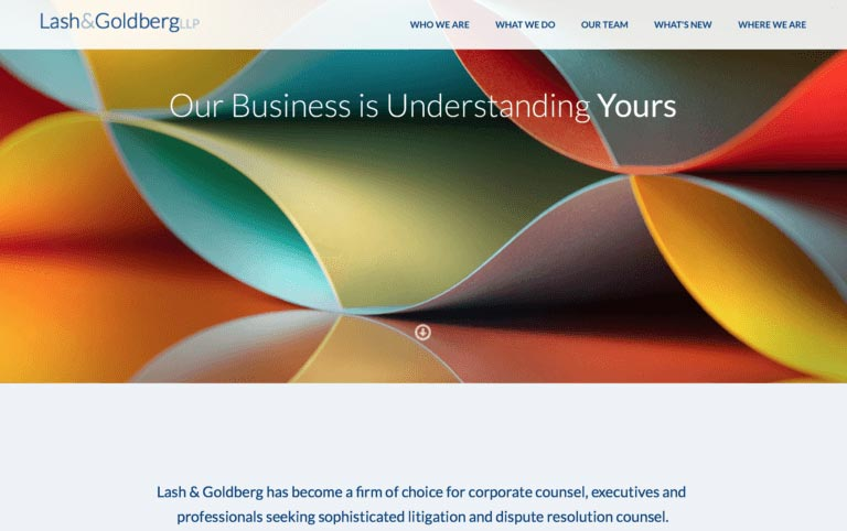 creare sito web per avvocato