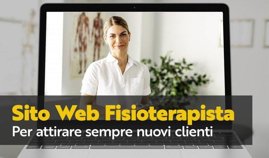 sito web fisioterapista